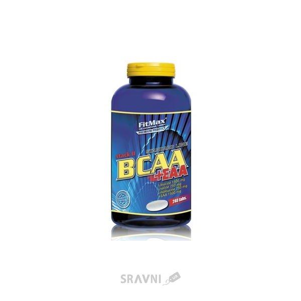 Фото FitMax BCAA Stack II+EAA 240 tabs