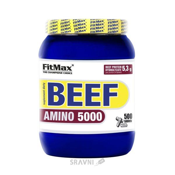 Фото FitMax Beef Amino 5000 500 tabs