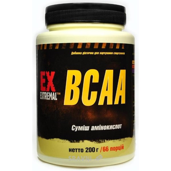 Фото Extremal BCAA 200g (66 servings)
