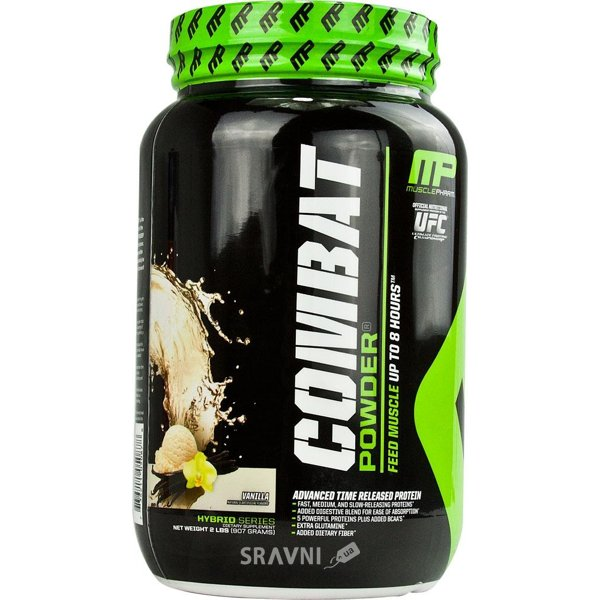 Фото MusclePharm Combat 908 g