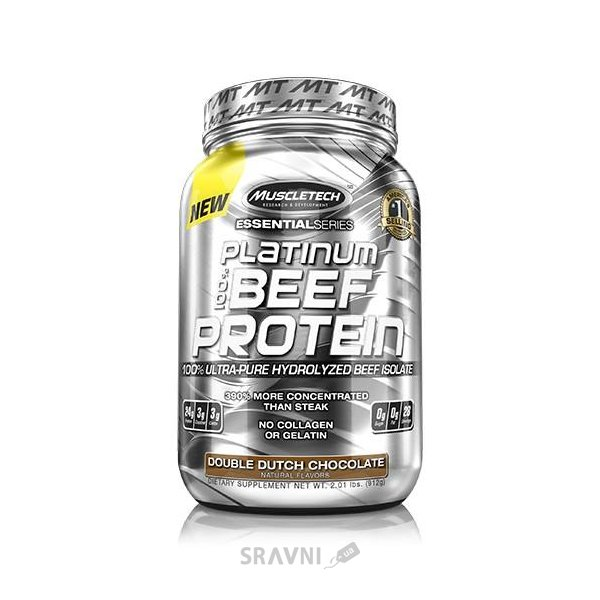 Фото MuscleTech Platinum 100% Beef Protein 912 g (28 servings)