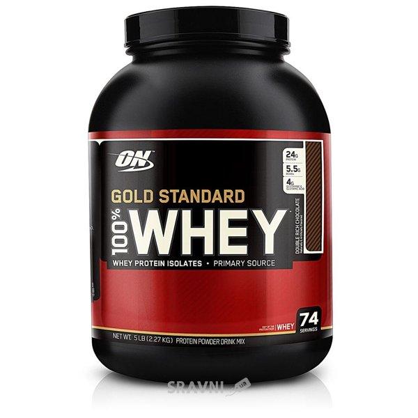 Фото Optimum Nutrition 100% Whey Gold Standard 2273 g (76 servings)