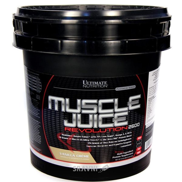 Фото Ultimate Nutrition Muscle Juice Revolution 2600 5040 g