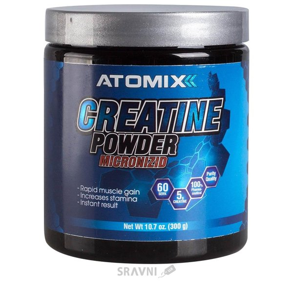 Фото Atomixx Creatine Powder Micronizid 300 g