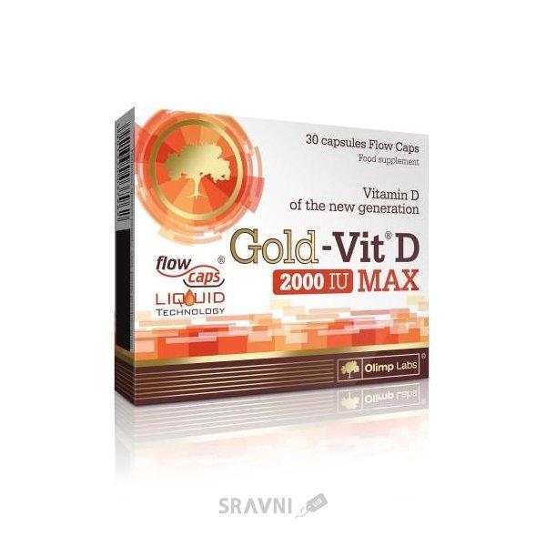 Фото Olimp Labs Gold-Vit D MAX 30 caps