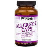 Фото Twinlab Allergy C Caps 100 caps