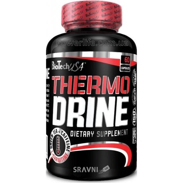 Фото BioTech Thermo Drine 60 caps