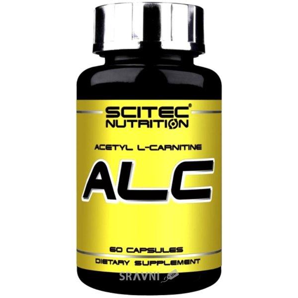 Фото Scitec Nutrition ALC (Acetyl L-Carnitine) 60 caps