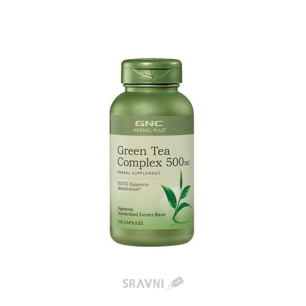 Фото GNC Green Tea Complex 100 caps