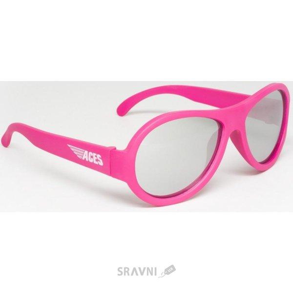 Фото Babiators Aces Popstar розовый зеркальные линзы (7-14) ACE-005