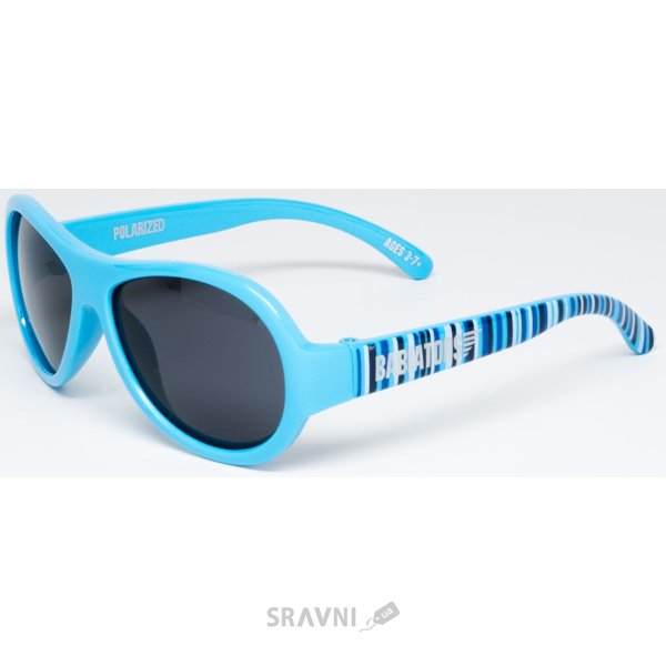 Фото Babiators Polarized Supersonic Stripes голубой (3-7) BAB-062