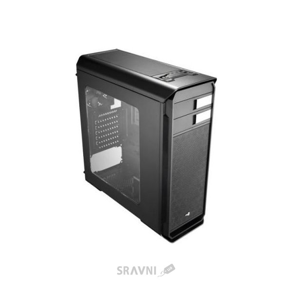 Фото Aerocool Aero-500 Window Black Edition w/o PSU