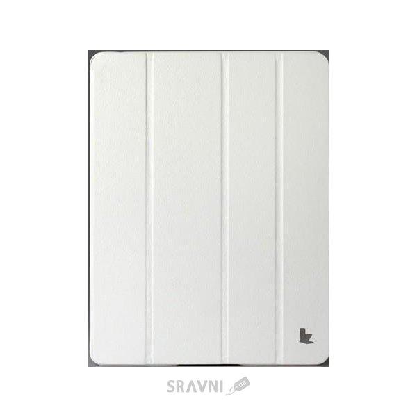 Фото JisonCase Classic Smart Case for iPad 2/3/4 White JS-IPD-06H00