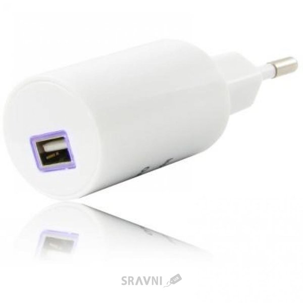Фото Gelius Gold Edition USB 1.2A White (36482)