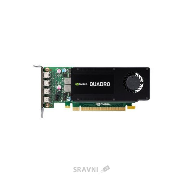 Фото PNY Quadro K1200 for DVI 4Gb GDDR5 (VCQK1200DVI-PB)
