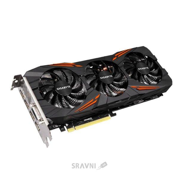 Фото Gigabyte GeForce GTX 1070 G1 Gaming 8Gb (GV-N1070G1 GAMING-8GD)