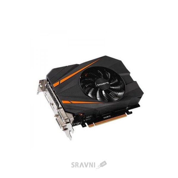 Фото Gigabyte GeForce GTX 1070 Mini ITX 8Gb (GV-N1070IX-8GD)