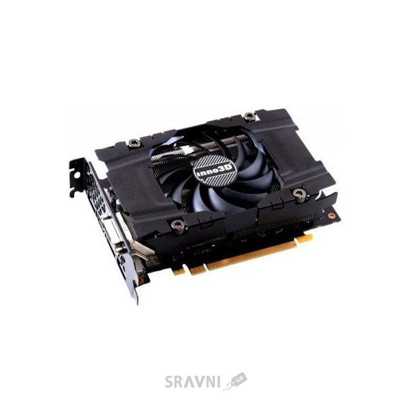 Фото Inno3D GeForce GTX 1060 3Gb Compact (N1060-2DDN-L5GN)