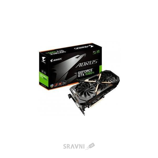 Фото Gigabyte GeForce GTX 1080 Ti AORUS 11G (GV-N108TAORUS-11GD)