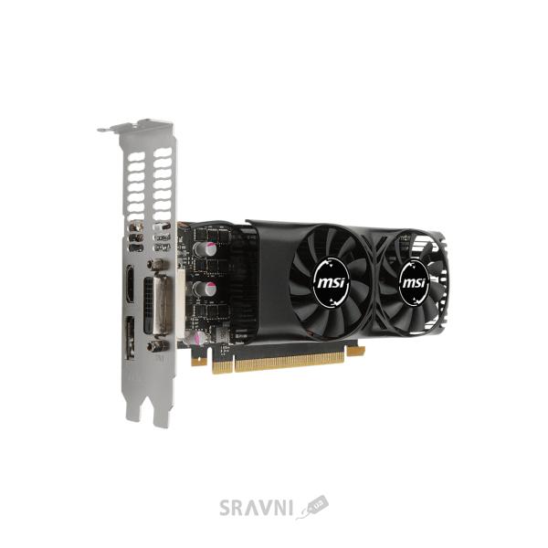 Фото MSI GeForce GTX 1050 TI 4GT LP