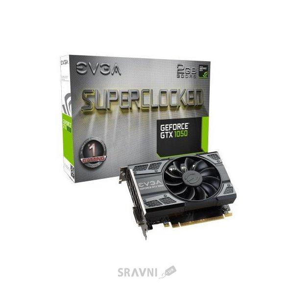 Фото EVGA GeForce GTX 1050 2Gb SC GAMING (02G-P4-6152-KR)