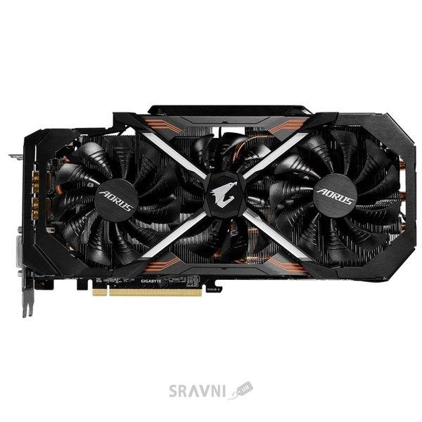 Фото Gigabyte GeForce GTX 1080 Ti AORUS Xtreme Edition 11Gb (GV-N108TAORUS X-11GD)