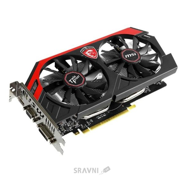 Фото MSI N750Ti TF 2GD5/OC