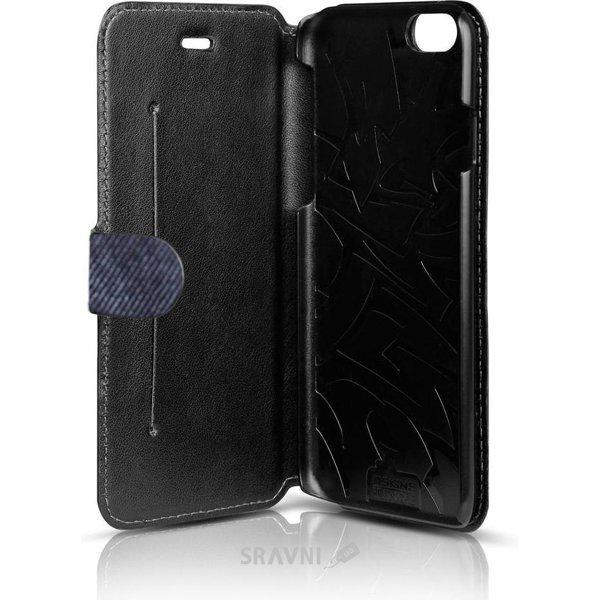 Фото Itskins Angel for iPhone 6 Plus Black/Blue (AP65-ANGEL-BKBL)