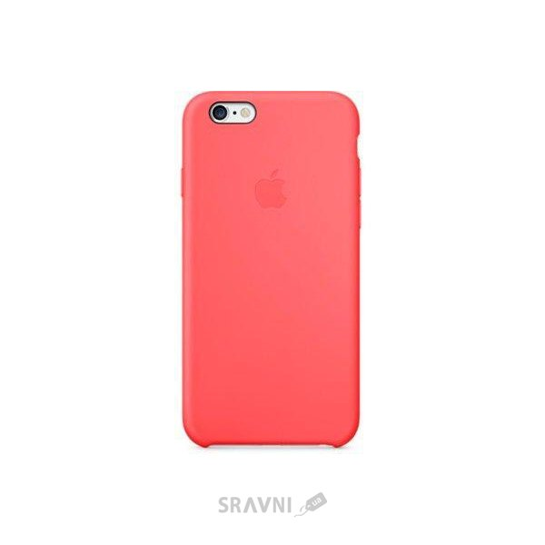 Фото Apple iPhone 6 Silicone Case - Pink (MGXT2)