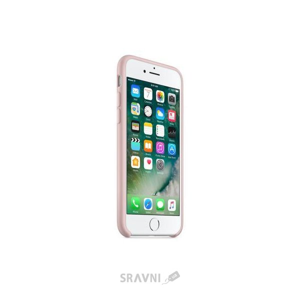 Фото Apple iPhone 7 Silicone Case - Pink Sand (MMX12)