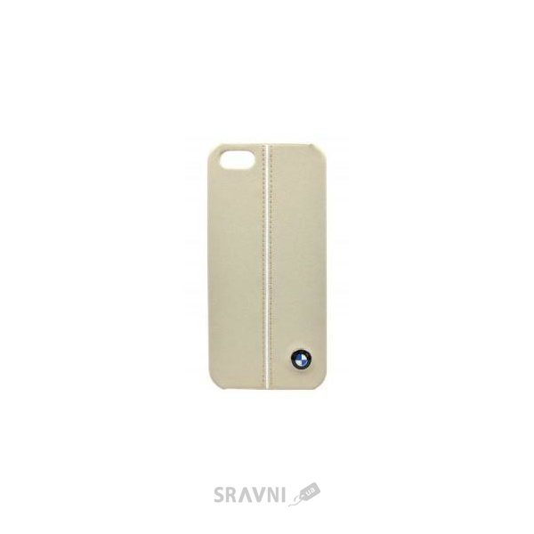 Фото BMW Hard Case for iPhone 5S/5 - Cream (BMHCP5LC)