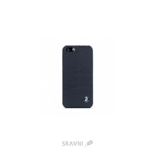 Фото CG Mobile BMW Leather Hard Case Navy for iPhone 5/5S/SE (BMHCP5LN)
