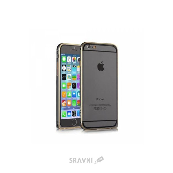Фото Devia Buckle Curve для Apple iPhone 6 Plus Gun Black