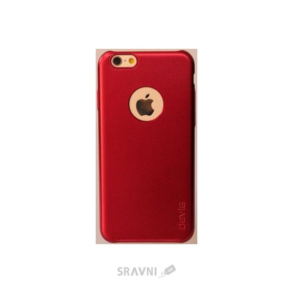 Фото Devia Chic для Apple iPhone 6/6S Passion Red