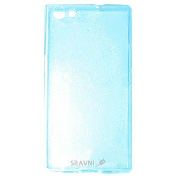 Фото Doogee TPU Ultra Thin Doogee Y300, Y300 Pro Transparent Blue