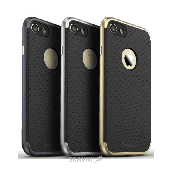 Фото IPAKY Hybrid Series Apple iPhone 7 Gold