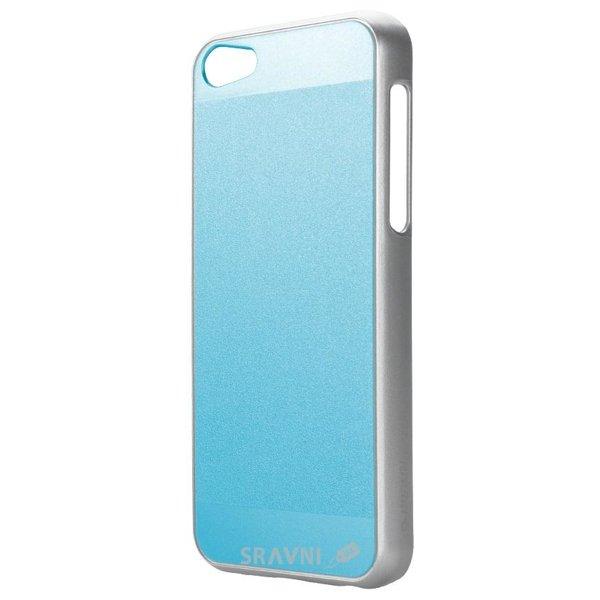 Фото iPearl Ice-Satin case Pearl Blue for iPhone 5C (IP13-NPC-08201D)