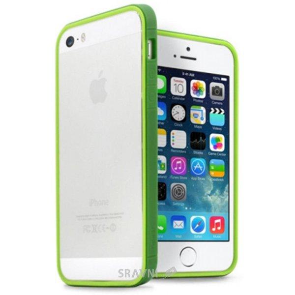 Фото JCPAL Anti-shock Bumper 3 in 1 для iPhone 5S/5 Set-Green (JCP3315)