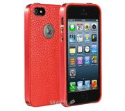 Фото JisonCase Elegant Slim Case for iPhone 5/5S  Red(JS-IP5-09C30)