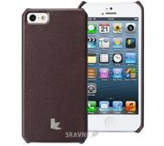 Фото JisonCase Wallet Case for iPhone 5 Brown (JS-IP5-01H20)