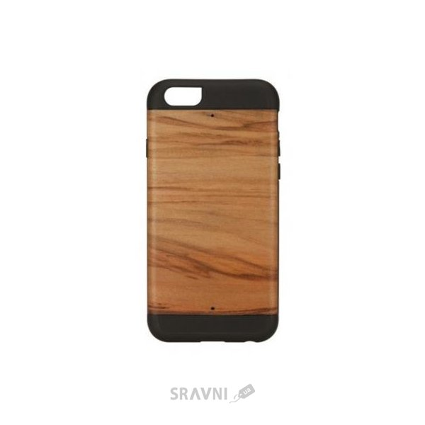 Фото Man&wood iPhone 6 Wood Cappucino/Black (M1421B)