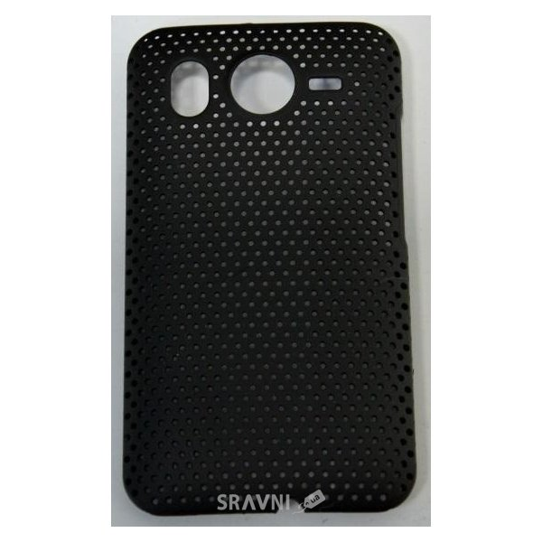 Фото EasyLink Perforated mesh case HTC Desire black