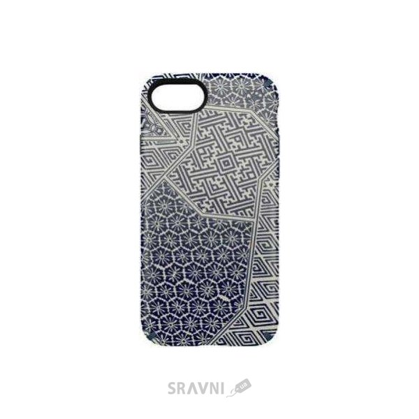 Фото Speck Presidio Inked for iPhone 7 Shiboritile Blue Matte/Marine Blue (SP-79990-5757)