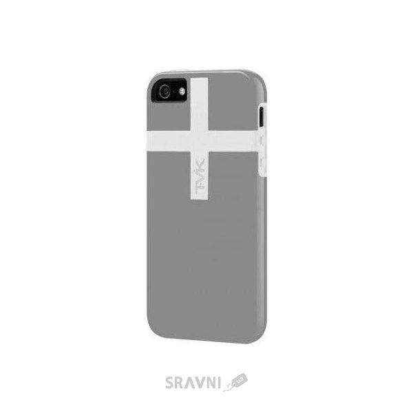 Фото Tavik Channel for iPhone SE/5/5S Gray/White (TVK-IPH-026)