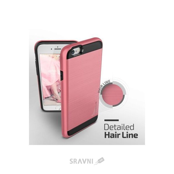 Фото Verus Verge Case for iPhone 6/6S Rose Pink (VSIP6SVG6)