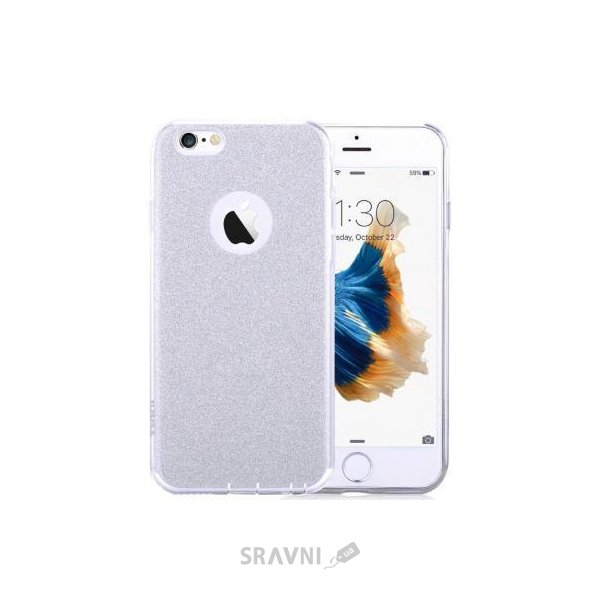 Фото Vouni Meteoric Soft Case для iPhone 6/6s Silver