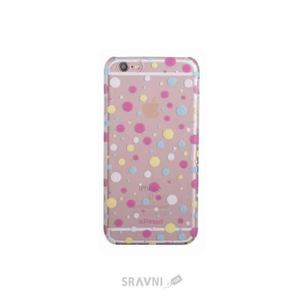 Фото X-Fitted Colorful Dot для iPhone 6/6s (P6BDC)