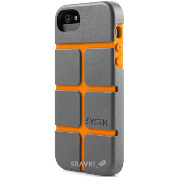 Фото Incase SYSTM Chisel Case Asphalt/Orange for iPhone 5/5S (SY10031)
