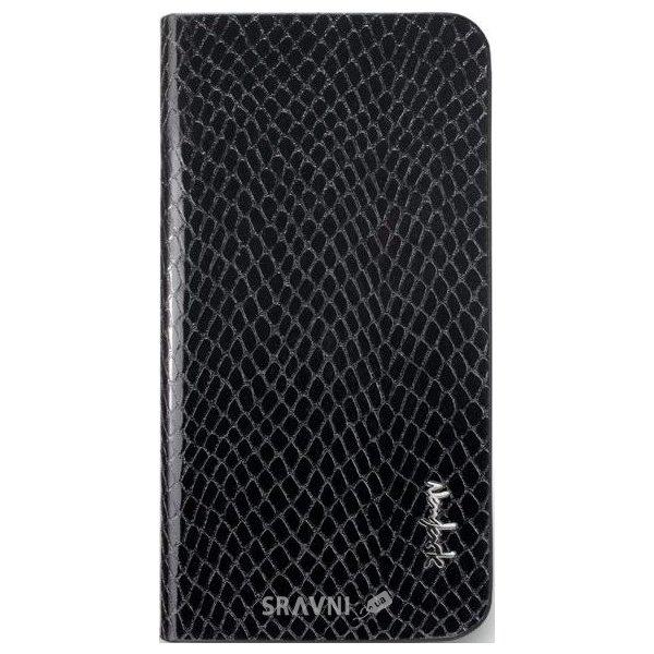 Фото NavJack Python Folio for iPhone 5/5S chamois black (J019-01)