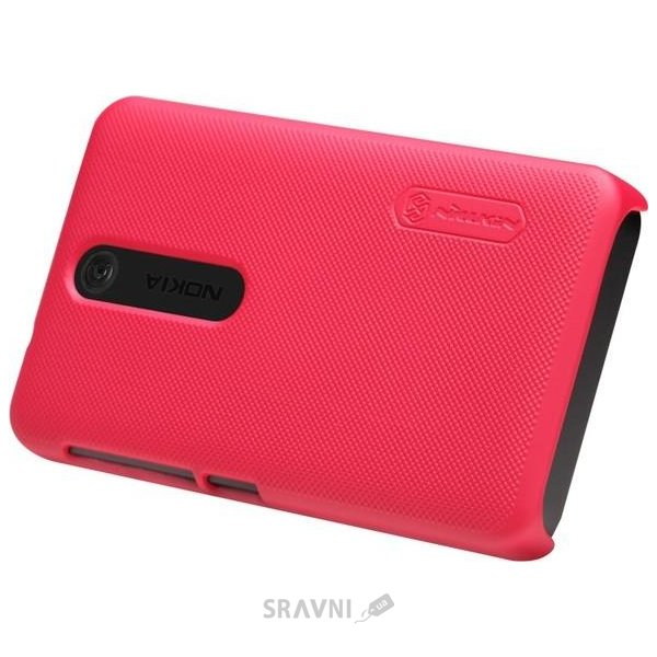 Фото Nillkin Super Frosted Shield for Nokia Asha 501 (Red)